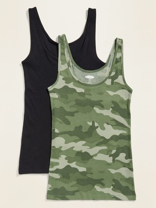 Old Navy First Layer Rib-Knit Tank Top 2-Pack for Women
