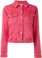Frame denim jacket - women - Cotton/Polyester/Spandex/Elastane - S