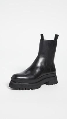 Loeffler Randall Toni Lug Sole Platform Boots