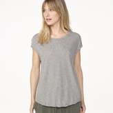 James Perse High Gauge Circular Shell Top