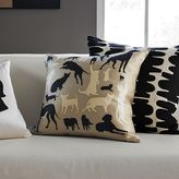 Animal Cutouts Pillow Cover