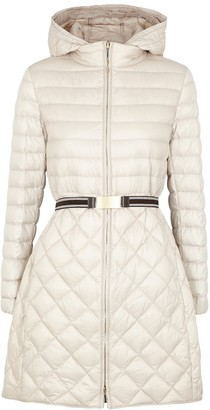 Max Mara The Cube Trev Stone Quilted Shell Jacket