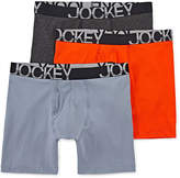 Jockey 3-pk. Active Stretch Midways
