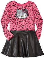 Hello Kitty Jersey Dress (Toddler/Kid) - New Pink - 2T