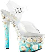 Pleaser USA Women's Sky 308MERMD Ankle-Strap Sandal