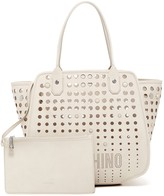 Love Moschino Perforated Tote & Pouch