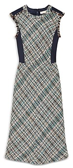 Tory Burch Tweed Pencil Dress