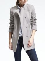 Banana Republic Cotton Snap Coat