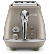 De'Longhi Delonghi Icona Elements 2 Slice Toaster Beige