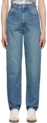 Etoile Isabel Marant Navy Corsyj Jeans