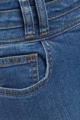 Current/Elliott The Pinball Stiletto High-rise Skinny Jeans
