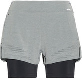 LNDR Run Double Layered Stretch-jersey Shorts