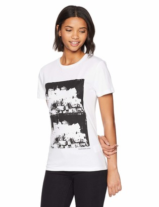 Calvin Klein Jeans Women's Graphic T-Shirt