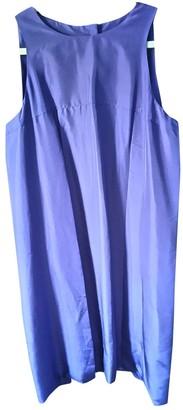 Fendi Purple Silk Dresses
