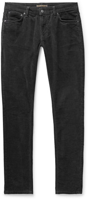 Nudie Jeans Skinny Lin Organic Cotton-Blend Corduroy Trousers