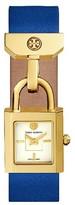 Tory Burch Women's Surrey Leather Strap Watch, 21Mm