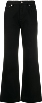 A.P.C. Flared Cropped Jeans
