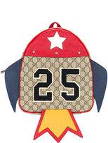 Gucci Kids GG Supreme rocket backpack
