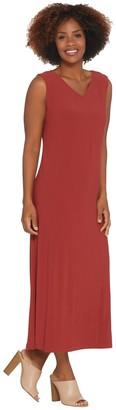 Linea by Louis Dell'Olio Regular Moss Crepe Tank Dress
