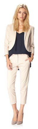 French Connection City Cotton Cropped Jacket