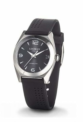 Locman Analog Quartz Watch with Stainless Steel Strap Clear 3 (Model: 4573282437759)