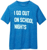 JEM I Go Out on School Nights Graphic Tee (Big Boys)