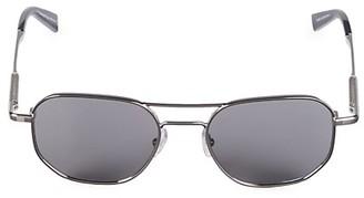 Ermenegildo Zegna 52MM Round Aviator Sunglasses