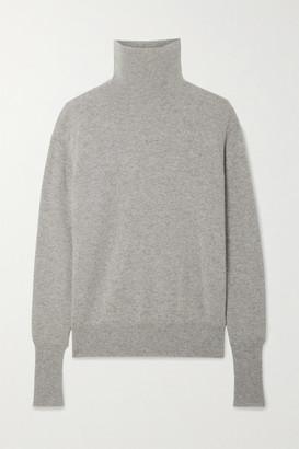 Nili Lotan Ralphie Cashmere Turtleneck Sweater - Gray
