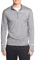 Nike 'Element' Dri-FIT Quarter Zip Running Top