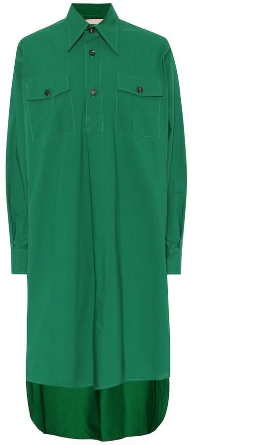 Plan C Cotton-poplin shirt dress