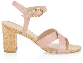 Stuart Weitzman Analeigh Patent Leather Sandals