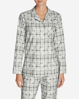 Eddie Bauer Women's Stine's Favorite Flannel Sleep Shirt