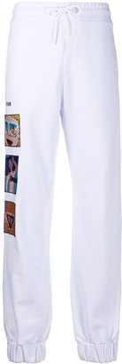 MSGM Side Patch Drawstring Track Pants