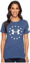 Under Armour Freedom Logo Short Sleeve Women's Clothing