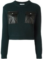 Carven chest pockets jumper