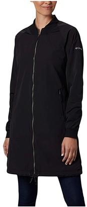 Columbia Day Trippin'tm Long Jacket (Black) Women's Coat