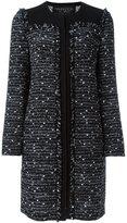 Giambattista Valli zipped coat - women - Silk/Cotton/Acrylic/Virgin Wool - 44