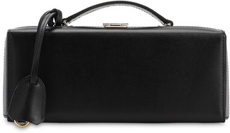 Mark Cross GRACE LUNGO LEATHER TOP HANDLE BAG