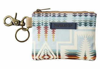 Pendleton Women's Canopy Canvas ID Pouch Key Ring