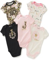 Juicy Couture 5 Pack Bodysuits