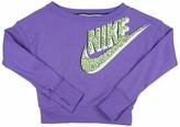 Nike Big Girls' (7-16) Seasonal SB Crew Sweatshirt-Lavender-Medium