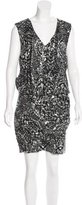 Rebecca Minkoff Silk Sequin-Embellished Dress