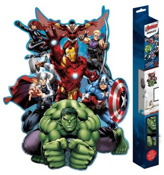 "Trends International Avengers Assemble RoomScapes Poster Decal - 18"" x 24"""