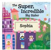 I See Me! 'The Super, Incredible Big Sister' Personalized Hardcover Book & Medal