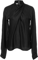 Temperley London Seahright Ruffle Blouse