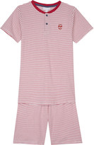 The Little White Company London Henley cotton pyjamas 6-12 years