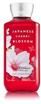 Bath and Body Works Shea Enriched Shower Gel New Improved Formula 10 Oz. (Japanese Cherry Blossom)