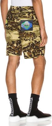 Givenchy Nylon Bermuda Short in Light Khaki | FWRD