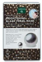 Earth Therapeutics Brightening Black Pearl Face Mask