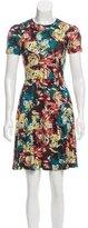 Erdem Floral Print Mini Dress